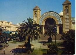 Oran - La Place De La Cathedrale - Formato Grande Viaggiata – E 14 - Cartoline