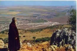 Mt. Carmel  Vie On The Emek Vizreel  Plain From - The Churh Of The Prophet Elia - Formato Grande Viaggiata – E 14 - Cartoline