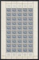 Tunisie 1950 - Timbres Neufs (MNH). Yvert Nr.: 345 B- Feuille De 50 Timbres..... (VG) DC5342 - Tunisie (1888-1955)