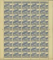 Tunisie 1945 - Timbres Neufs (MNH). Yvert Nr.: 292- Feuille De 50 Timbres..... (VG) DC5346 - Tunisie (1888-1955)
