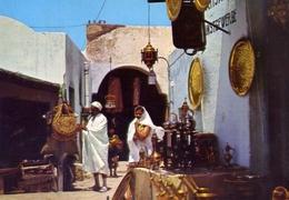 Hammamet - Un Souk - Formato Grande Viaggiata – E 14 - Cartoline