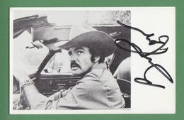 BURT REYNOLDS Original In Person Signed Photo AUTOGRAPHE / AUTOGRAMM  9/14 Cm - Autographes