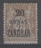 ZANZIBAR:  N°30 Oblitéré      - Cote 32€ - - Zanzibar (1894-1904)