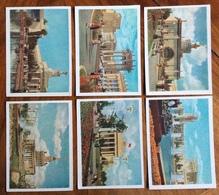 VEDUTE CITTA SOVIETICHE  DOPISNICE CARTOLINA POSTALE URSS  40 K -  6 Cartoline - 1945-1992 Repubblica Socialista Federale Di Jugoslavia