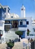 Sidi Bou Said - Cafe Des Nattes - Formato Grande Viaggiata Mancante Di Affrancatura – E 14 - Cartoline
