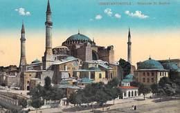 TURQUIE Turkey  -CONSTANTINOPLE Mosquée St Sophie Sainte-Sophie (Mosque Religion) *PRIX FIXE - Turquie
