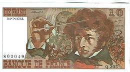 10 FRANCS- 6.7.78 SPL Alph Q.305 - 1962-1997 ''Francs''
