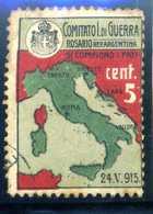 ERINNOFILIA /  Comitato I. Di Guerra Rosario Rep. Argentina - Erinnofilia