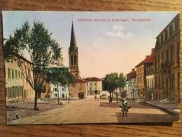 CPA, - Chateau SALINS In Lothringen - Nanzigstrasse, Moselle,57, Animée, écrite;éd J.Manias - Chateau Salins