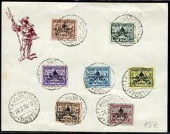 VATICAN - N°85A A 85G / FEUILLETS OBL. FDC DU 20/2/1939 - TB - Briefe U. Dokumente