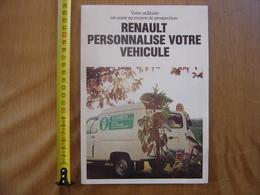 Ancien Depliant AUTOMOBILE RENAULT 1977 PERSONALISATION Deco Garage Loft - Werbung