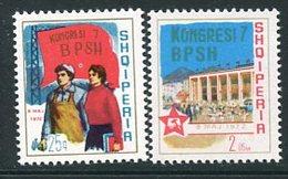ALBANIA 1972 Trades Union Congress MNH / **,  Michel 1544-45 - Albanie