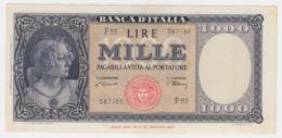 Italy 1000 Lire 1947 VF++ Pick 83 - [ 2] 1946-… : République