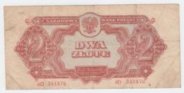 Poland 2 Zlotych 1944 Pick 107a - Polonia
