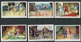 ALBANIA 1971 National Ballet MNH / **,  Michel 1521-26 - Albania