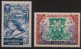 """ALGERIE -  """" JO à Grenoble """" - Algerije (1962-...)"""