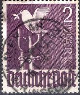ALLEMAGNE -BERLIN ! Timbre De 1948 N°18 ! Surcharge Noire ! - Berlin (West)