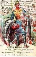 CPA   -  GUERRE 1914/1818  - HUMOUR   -  Guillaume Dans Sa Splendeur -  Circulé - - Humor