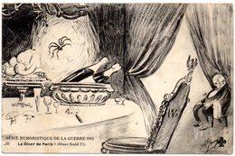 CPA   -  GUERRE 1914/1818  - HUMOUR   -  Le Diner De Paris-  Circulé - - Humor