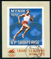 ALBANIA 1971 Olympic Games Block Used,  Michel Block 42 - Albanien