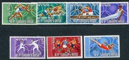 ALBANIA 1971 Olympic Games MNH / **,  Michel 1499-505 - Albanie