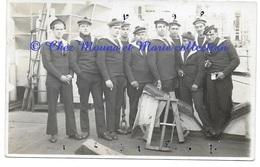 LES MARINS TOUS NOMMES DU WALDECK ROUSSEAU A SHANGHAI EN 1923 CROISEUR CUIRASSE - CARTE PHOTO MILITAIRE - Guerres - Autres