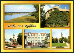 D1630 - TOP Roßlau - Verlag Bild Und Heimat Reichenbach - Qualitätskarte - Rosslau
