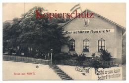 """Kunitz 1918, Gasthof """"Zur Schönen Aussicht"""" - Bei Jena - Jena"""