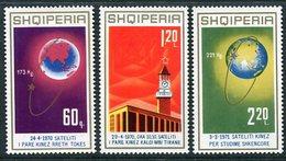 ALBANIA 1971 Chinese Space Successes MNH / **,  Michel 1486-88 - Albania