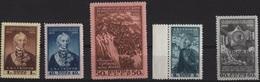 RUSSIE YT N°1450 A 1454 NEUFS ** - 1923-1991 USSR