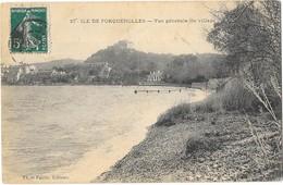 ILE DE PORQUEROLLES (83) Vue Générale Du Village - Porquerolles