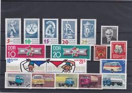 DDR Kleine Verzameling  **, Zeer Mooi Lot K1046 - Timbres