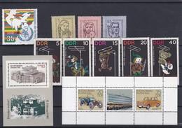 DDR Kleine Verzameling  **, Zeer Mooi Lot K1047 - Timbres