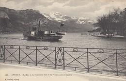 ANNECY: Le Lac Et La Tournette Vus De La Promenade Du Jardin - Annecy