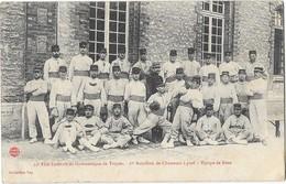 TROYES (10) Fete Fédérale De Gymnastique 1er Bataillon Chasseurs à Pied équipe De Boxe - Troyes