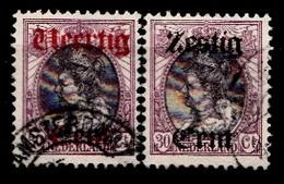 Pays-Bas 1919 Mi.nr: 95-96 Königin Wilhelmina  Oblitérés / Used / Gest. - Gebraucht