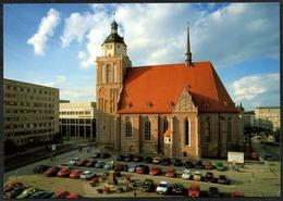 D1667 - TOP Dessau Marienkirche Kirche - Verlag Bild Und Heimat Reichenbach - Qualitätskarte - Dessau