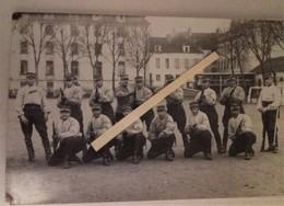 1914 Meaux 8 Eme Régiment De Hussards Execice Carabine Modèle 1892  Tranchée Poilu 1914-1918  WW1 Carte Photo - Guerra, Militari