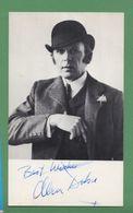 ALAN DOBIE Original In Person Signed Photo AUTOGRAPHE / AUTOGRAMM  9/15,5 Cm - Autographes