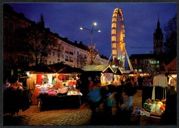 D1670 - TOP Dessau Weihnachtsmarkt - Verlag Bild Und Heimat Reichenbach - Qualitätskarte - Dessau