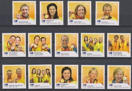 Olympics 2008 - Winner - AUSTRALIA - Set 16v MNH - Ete 2008: Pékin