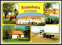 D1675 - TOP Braunsbedra - Verlag Bild Und Heimat Reichenbach - Qualitätskarte - Deutschland