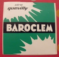 Autocollant Baroclem Série Quevilly. Vers 1950-60. - Stickers