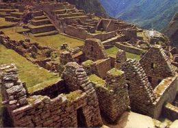 Cusco - Peru - Vista Parcial Del Acropolis De Mahupichu - Formato Grande Viaggiata – E 14 - Perù