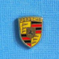 1 PIN'S //  ** LOGO / BLASON  PORSCHE ** - Porsche