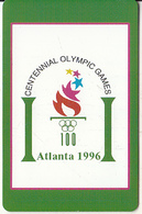 USA - Atlanta 1996 Olympics, US Promotion Prepaid Card, Tirage 2000, Exp.date 31/08/97, Used - Etats-Unis