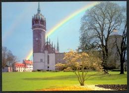 D1695 - TOP Wittenberg Schloß Schloßkirche Kirche - Verlag Bild Und Heimat Reichenbach - Qualitätskarte - Wittenberg