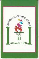 USA - Atlanta 1996 Olympics, US Promotion Prepaid Card, Tirage 2000, Exp.date 31/08/97, Sample - Olympic Games