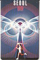 USA - Seoul 1988 Olympics, US Promotion Prepaid Card, Tirage 2000, Exp.date 31/08/97, Sample - Etats-Unis