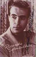 RICARDO MONTALBAN Original In Person Signed Photo AUTOGRAPHE / AUTOGRAMM  10/15,5 Cm - Autographes